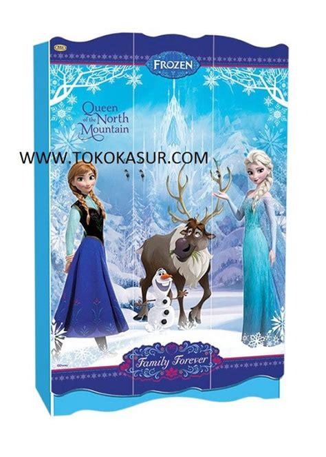 Rak Piring Frozen lemari 3 pintu frozen toko kasur bed murah