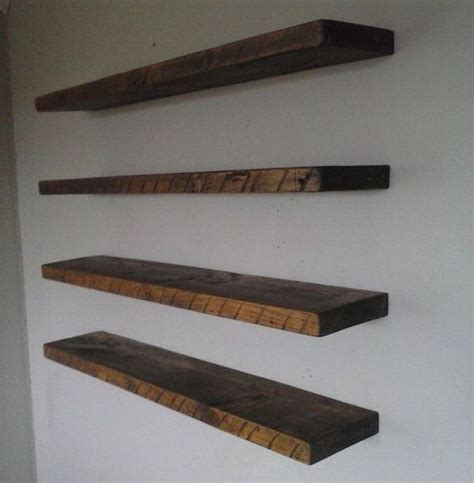 reclaimed wood floating shelves search