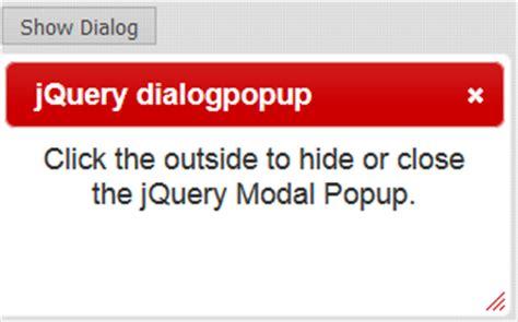 jquery ui dialog modal popup when outside overlay