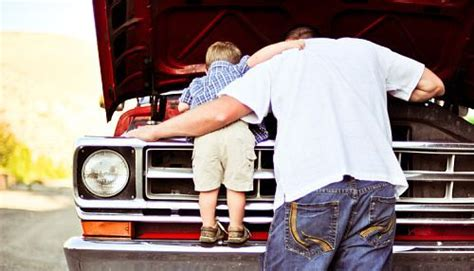 Kaos Dads Auto Shop this is just and toddler boy and