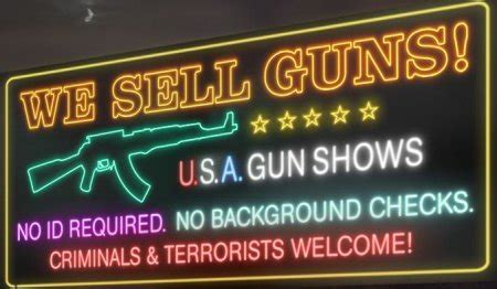Background Check Gun Show Worst Arguments For Not Enacting Gun The Lone In A Crowd