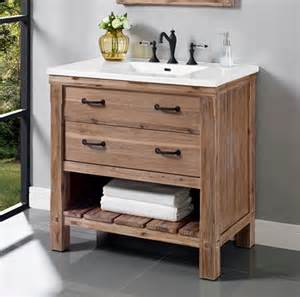 open shelving bathroom vanity napa 36 quot open shelf vanity sonoma sand fairmont