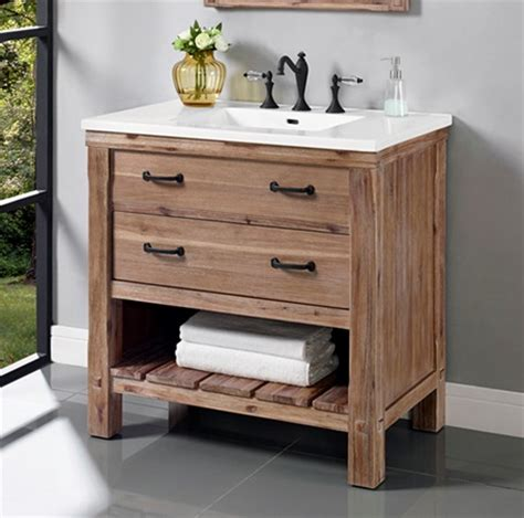 Shelf Vanity by Napa 36 Quot Open Shelf Vanity Sonoma Sand Fairmont