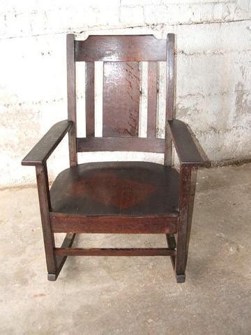 stickley mission style rocking chair antique mission oak stickley style rocking chair 17045037