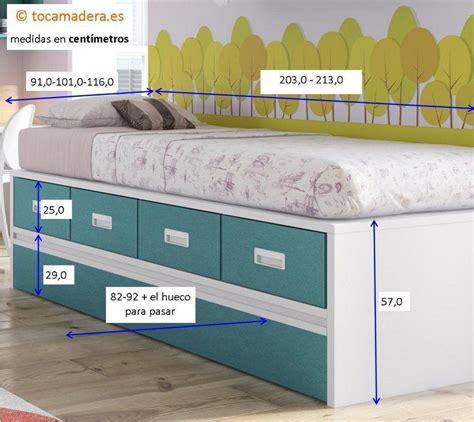 camas 105 cm camas nido de 105 cm good cama nido with camas nido de