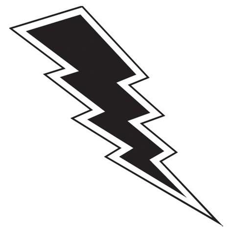 Flash Lightning Bolt Outline by Lightning Bolt Vinyl Wall Mirrorin Uk S No1 Childrens Clipart Best Clipart Best