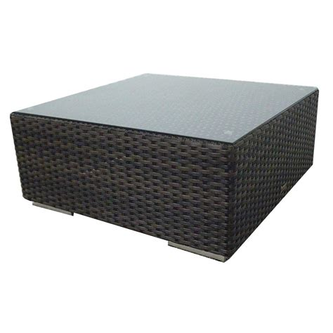 Outdoor Wicker Coffee Table Source Outdoor Manhattan Wicker Coffee Table Wicker