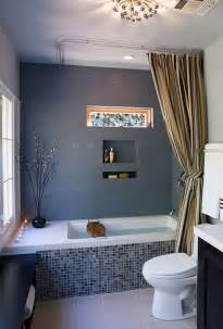 Grey And Blue Bathroom Ideas by Bathroom Curtain Ideas For All Tastes And Styles