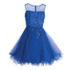 Clothing amp gifts 187 sparkling royal blue tween special occasion dress