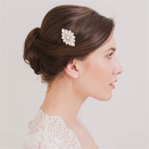 wedding hair comb with chains by britten weddings deco wedding hair comb by britten weddings