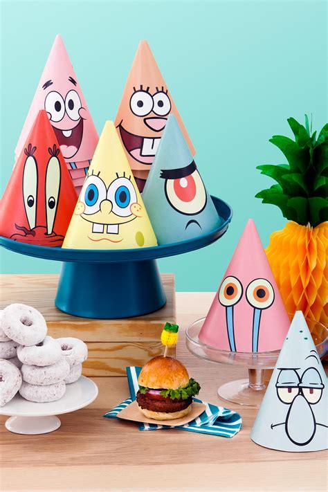 spongebob at spongebob printable hats nickelodeon parents
