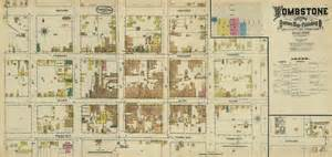 Tombstone Arizona Map by File Tombstone Fire Insurance Map 1888 Jpg Wikimedia Commons