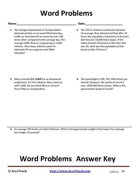 easy 5th grade math word problems worksheets goodsnyc
