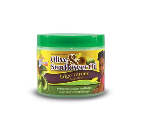 sunflower oil hair products sofn free n pretty olive and sunflower oil edge tamer