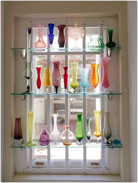10 cool shelf display ideas for your home