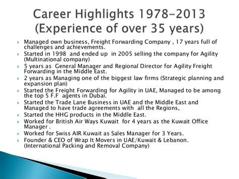 farouk najia career highlights october 2013