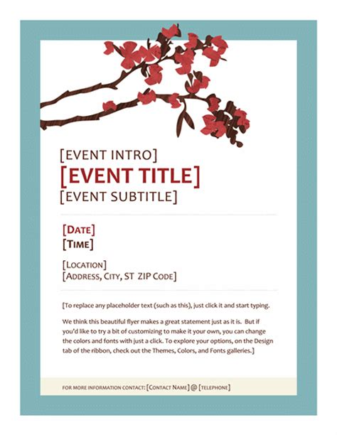 templates for event flyers event flyer design ideas exles