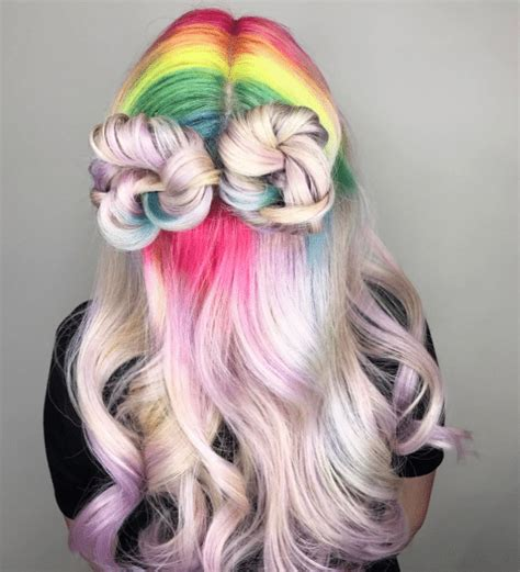 unicorn hair color hair color unicorn frappuccino inspired style designs