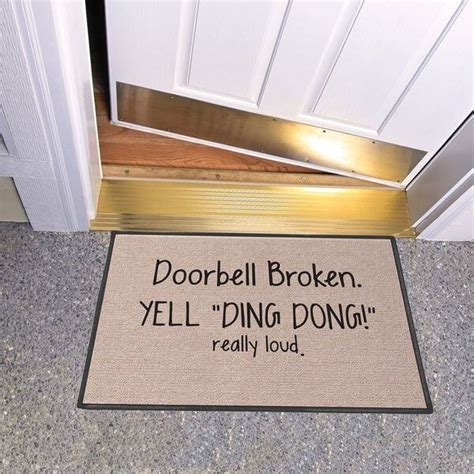 Ding Mats by Doormats Golly Gee Gardening