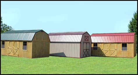 Shed Rentals Inc by Timberline Barns Storage Buildings Garages Offices