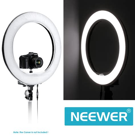 ring light for video camera neewer 5500k 40w 600 led camera video ring light