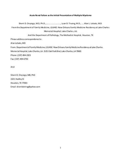 cover letter for manuscript to journal sle cover letter for manuscript sle manuscript sle cover