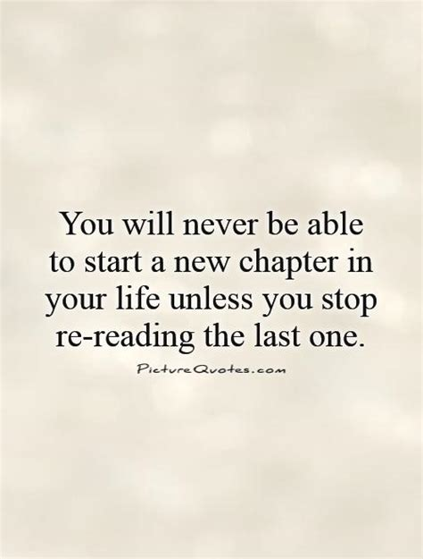 quotes about starting a new chapter in life quotesgram