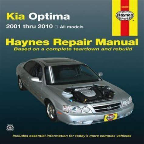 service manual hayes car manuals 2001 kia sportage electronic toll collection service manual 2001 2010 haynes kia optima repair manual 1563929244 ebay