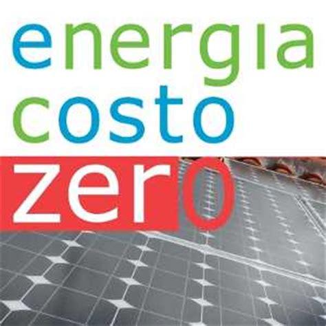 a costo zero come mettere un impianto fotovoltaico a costo zero