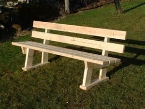 fabriquer un banc en bois avec dossier mzaol