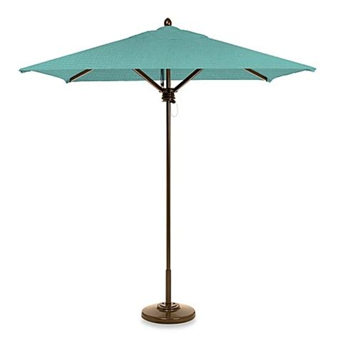 Square Patio Umbrellas Brown 7 Foot Square Patio Umbrella Bed Bath Beyond
