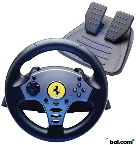 volante ps2 bol thrustmaster racestuur universal