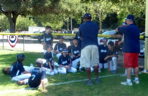 pa little league sectionals pa national ll player has bragging rights on his coach