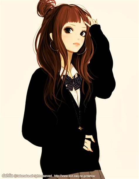 anime bun hairstyles hair buns zerochan anime image board