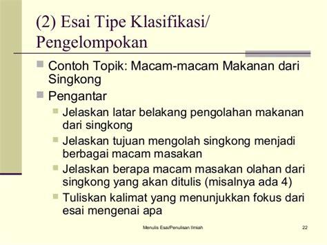 format penulisan esai contoh esai batik contoh yuk