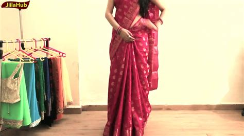 perfect saree draping how to wear perfect south indian silk saree to look