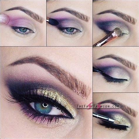 makeup ideas with blue colored contacts the fast fashion
