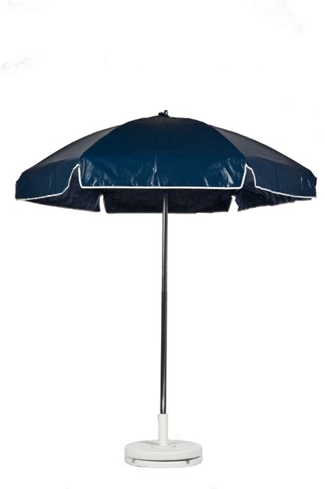 Vinyl Patio Umbrella 6 1 2 Diameter Cafe Navy Blue Commercial Outdoor Umbrella With Tilt Heavy Vinyl Bar