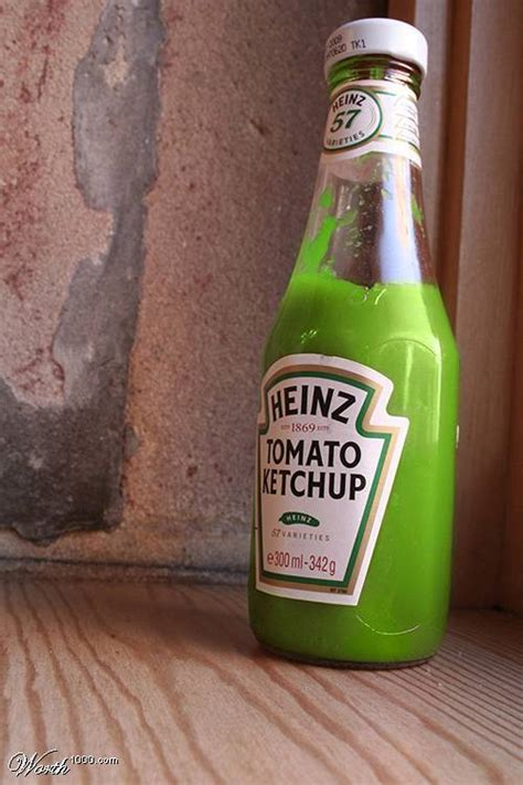 different colored ketchup 542 wrong colored foods 1000 awesome things