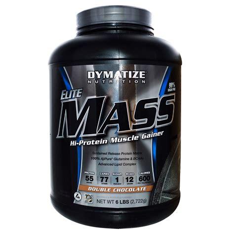 Elite Masa Gainer Ecer 2 Lbs dymatize nutrition elite mass hi protein gainer