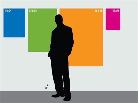 design poster size standard poster sizes guides pinterest standard