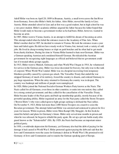 hitler biography essay essay on adolf hitler copywriteropenings web fc2 com