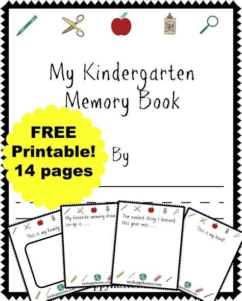 25 Best Ideas About Kindergarten Memory Books On Pinterest Preschool Memory Book School Free Printable Memory Book Templates