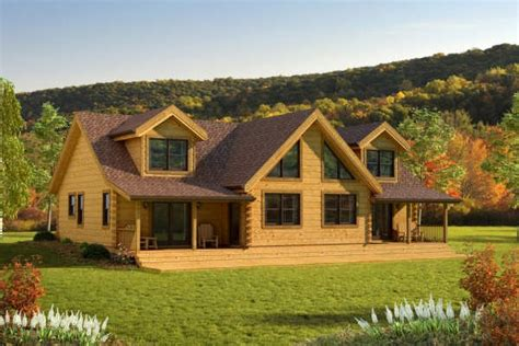 carolina home plan by countrymark log homes