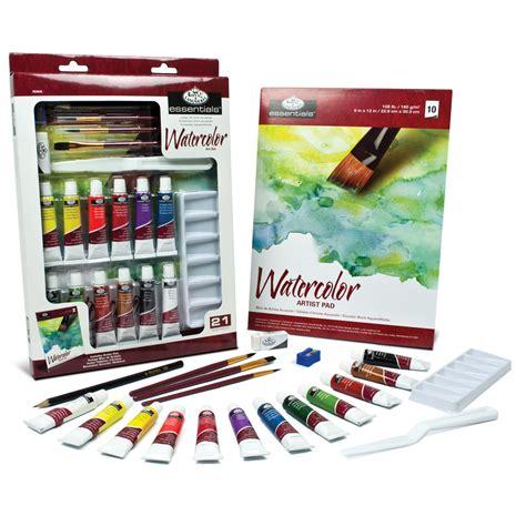 royal langnickel essentials set watercolor painting jo