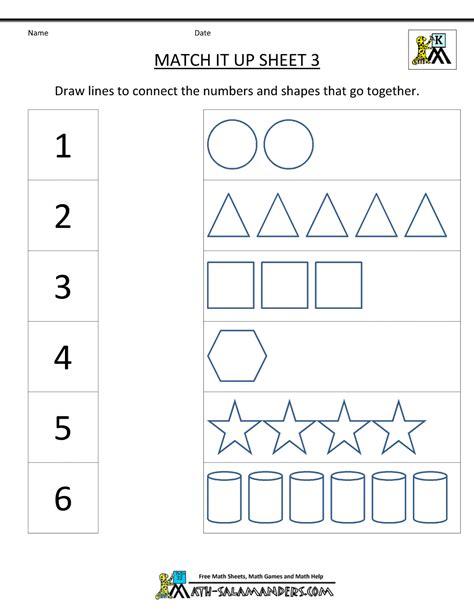 for kindergarten math worksheets kindergarten