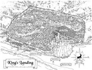 Game of thrones kings landing map from a clash of kings apps