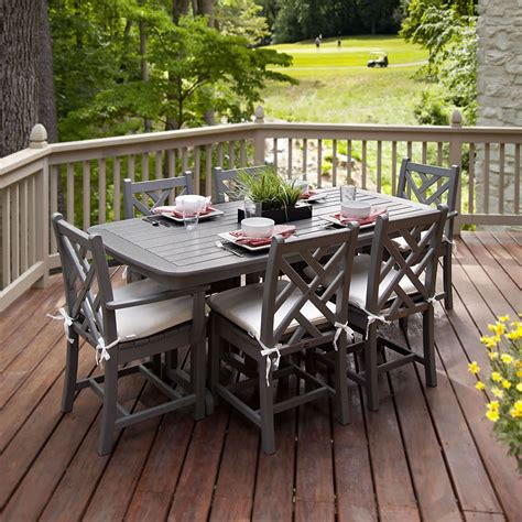Wooden Patio Dining Set Best 15 Outdoor Dining Furniture For Your Home Ward Log Homes