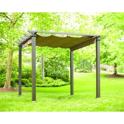 steel pergola with canopy steel pergola with retractable canopy pergola gazebo ideas