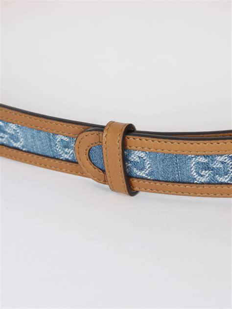 Denim Belt gucci gg interlocking denim belt 90 luxury bags